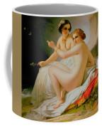 The Bathers Coffee Mug by Louis Hersent
