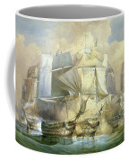 The Battle Of Trafalgar Coffee Mug
