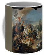 The Battle Of Vercellae Coffee Mug