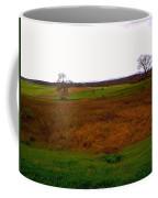 The Battlefield Of Gettysburg Coffee Mug