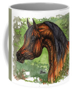 The Bay Arabian Horse 1 Coffee Mug