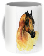 The Bay Arabian Horse 14 Coffee Mug