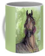 The Bay Arabian Horse 16 Coffee Mug