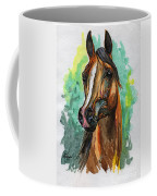 The Bay Arabian Horse 2 Coffee Mug
