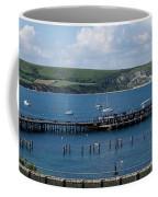 The Bay At Swanage Coffee Mug