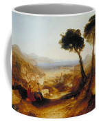 The Bay Of Baiae With Apollo And The Sibyl Coffee Mug