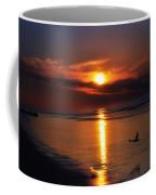 The Beach At Dawn Coffee Mug