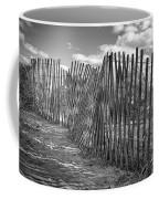 The Beach Fence Coffee Mug by Scott Norris