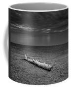 The Beach In Black And White Coffee Mug