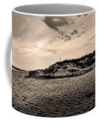 The Beach In Sepia Coffee Mug