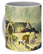The Beach Newport Coffee Mug by George Wesley Bellows