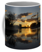 The Beaches Marina At Sunset Coffee Mug