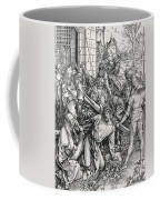 The Bearing Of The Cross From The 'great Passion' Series Coffee Mug by Albrecht Duerer