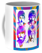The Beatles Art Coffee Mug
