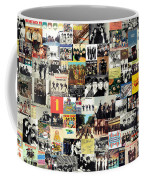 The Beatles Collage Coffee Mug