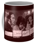 The Beatles In Old Photo Process At Fudruckers Coffee Mug