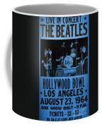 The Beatles Live At The Hollywood Bowl Coffee Mug