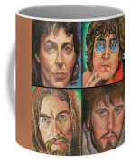 The Beatles Quad Coffee Mug
