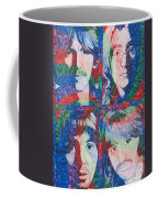 The Beatles Squared Coffee Mug