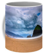 The Beautiful Cannon Beach Coffee Mug