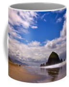 The Beautiful Cannon Beach Oregon Coffee Mug by David Patterson