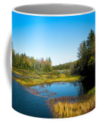 The Beautiful Moose River In Old Forge New York Coffee Mug