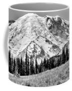 The Beautiful Mount Rainier At Sunrise Park - Washington State Coffee Mug