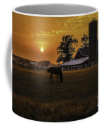 The Beauty Of A Rural Sunset Coffee Mug