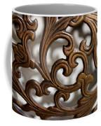 The Beauty Of Brass Scrolls 2 Coffee Mug