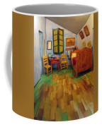 The Bedroom Of Van Gogh At Arles Coffee Mug