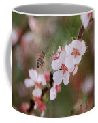 The Bee In The Cherry Tree Coffee Mug