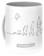 The Beginning Of Nostalgia -- The Ascent Of Man Coffee Mug