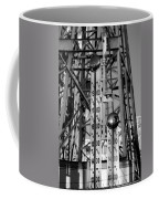 The Bells Of Coney Island In Black And White Coffee Mug