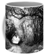 The Bend In The Road Bw Coffee Mug