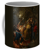 The Betrayal Of Christ Coffee Mug by Anthony Van Dyck