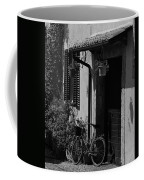 The Bicycle Under The Porch Coffee Mug