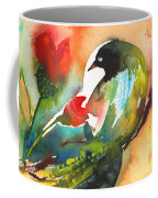 The Bird And The Flower 03 Coffee Mug