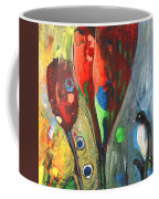 The Bird And The Tulips Coffee Mug