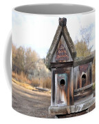 The Birdhouse Kingdom - Cedar Waxing Coffee Mug
