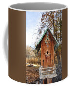 The Birdhouse Kingdom - Spotted Towhee Coffee Mug