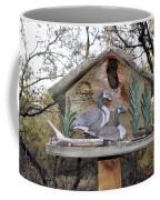 The Birdhouse Kingdom - The Geese A Swimming Coffee Mug