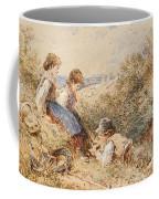 The Bird's Nest Coffee Mug by Myles Birket Foster