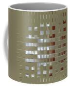 The Birth Of Squares No 1 Coffee Mug by Ben and Raisa Gertsberg