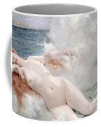 The Birth Of Venus Coffee Mug by Henri Gervex