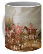 The Birton Hunt Coffee Mug by John E Ferneley