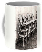 The Bistro Has Closed Coffee Mug by Olivier Le Queinec