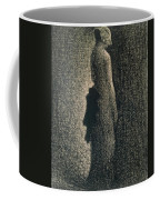 The Black Bow Coffee Mug by Georges Pierre Seurat