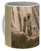 The Black-faced Vervet Monkey Coffee Mug