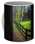 The Black Fence Coffee Mug