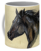 The Black Horse Coffee Mug